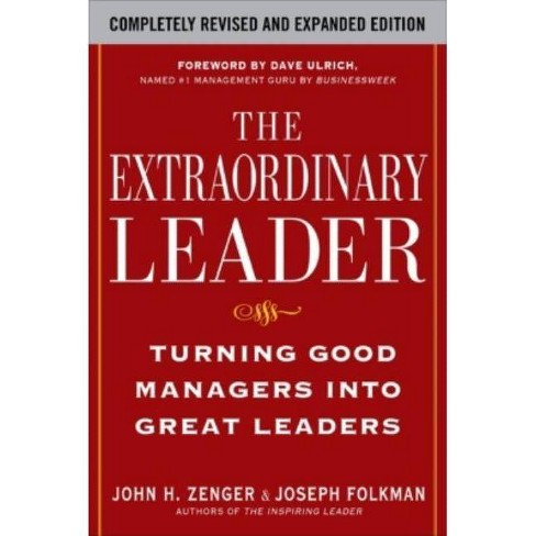 The Extraordinary Leader: Turning Good Managers Into Great Leaders - 2 Edition (Hardcover) - image 1 of 1