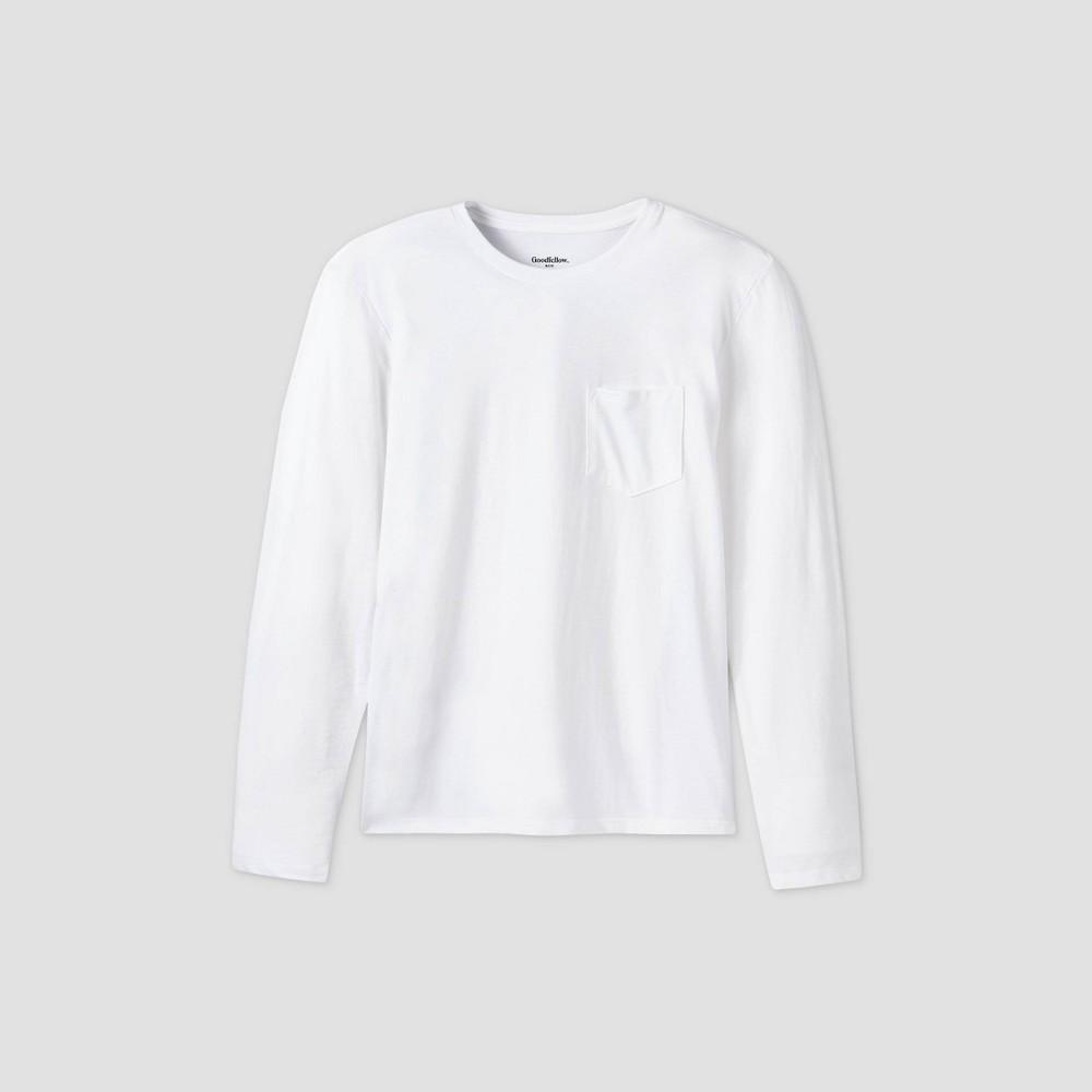 Best Men's Standard Fit Long Sleeve Novelty T-Shirt - Goodfellow & Co™