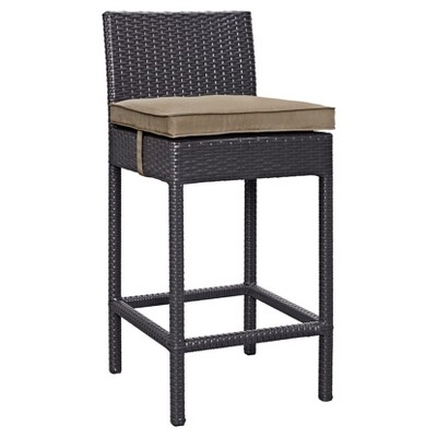 Lift Bar Stool Outdoor Patio Set Of 2 In Espresso Brown - Modway  Target  sc 1 st  Target & Lift Bar Stool Outdoor Patio Set Of 2 In Espresso Brown - Modway ...