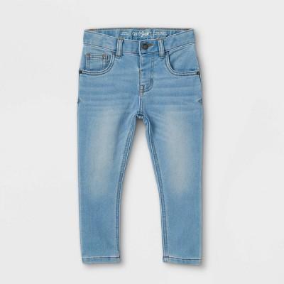 Toddler Boys' Skinny Fit Jeans - Cat & Jack™ Light Blue 2T