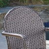 Astor 5pc Wicker Dining Set - Christopher Knight Home - image 3 of 4