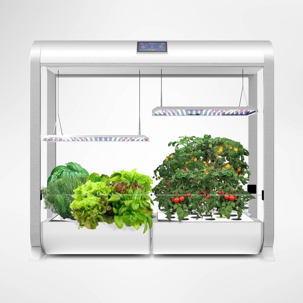 Image of AeroGarden Farm Plus With Salad Bar Seed Kit White