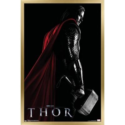 Trends International Marvel Cinematic Universe - Thor - One Sheet Framed Wall Poster Prints