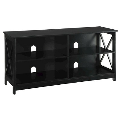 """Oxford TV Stand for TVs up to 46"""" Black - Breighton Home"""