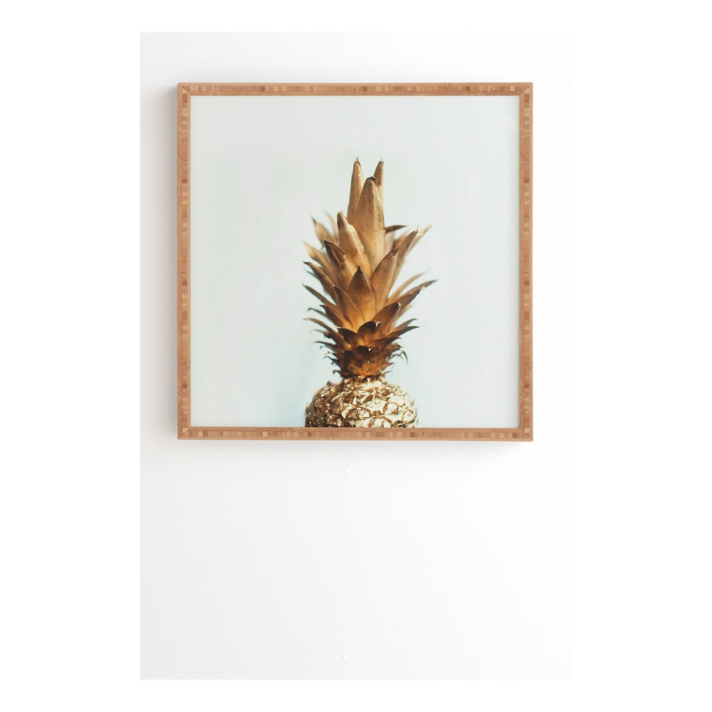 Chelsea Victoria The Gold Pineapple Framed Wall Art 12