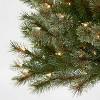 6ft Pre-lit Artificial Christmas Tree Virginia Pine Clear Lights - Wondershop™ - image 3 of 4