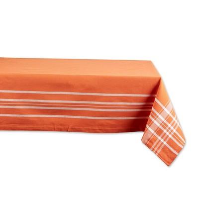 "60""x84"" Harvest Market Tablecloth Dark Orange - Design Imports"