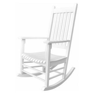 Vermont Porch Rocker - White