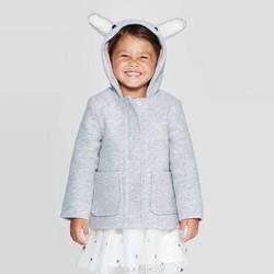 Toddler Girls' Fashion Jacket - Cat & Jack™ Gray