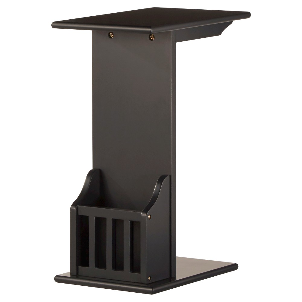 Image of Patton Magazine Rack Accent Table - Midnight - Inspire Q