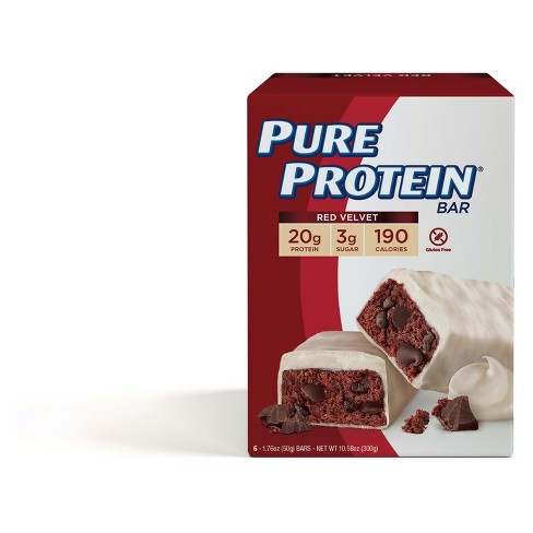 Pure Protein Bar - Red Velvet Cake - 6ct - image 1 of 2