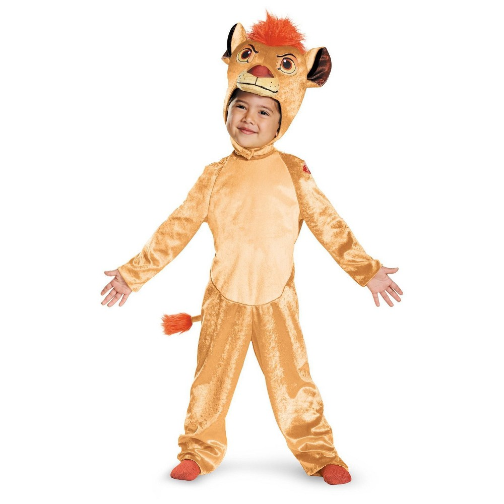The Lion Guard Kion Classic Toddler Costume - 3T, Toddler Boy's, Multicolored