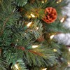Home Heritage Albany 12' Pre-Lit Artificial Christmas Tree w/ Pine Cones & Stand - image 3 of 4