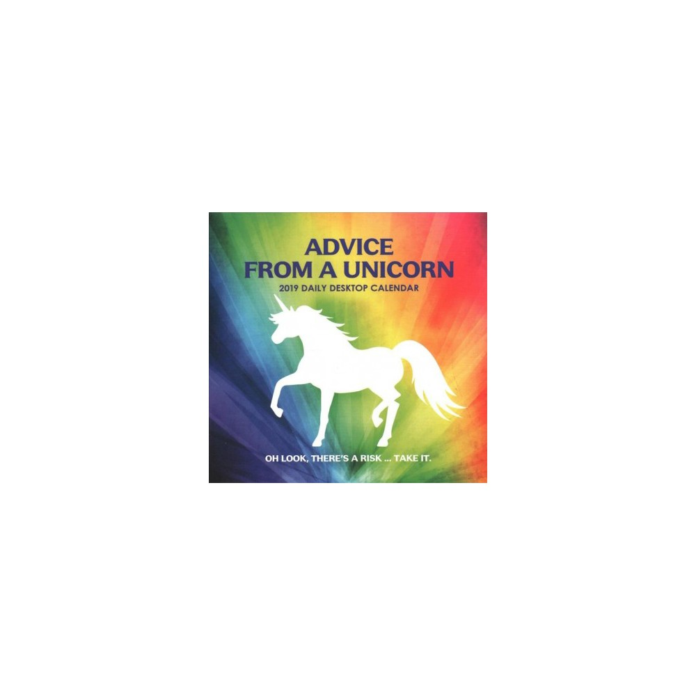 Advice from a Unicorn 2019 Calendar - (Paperback)