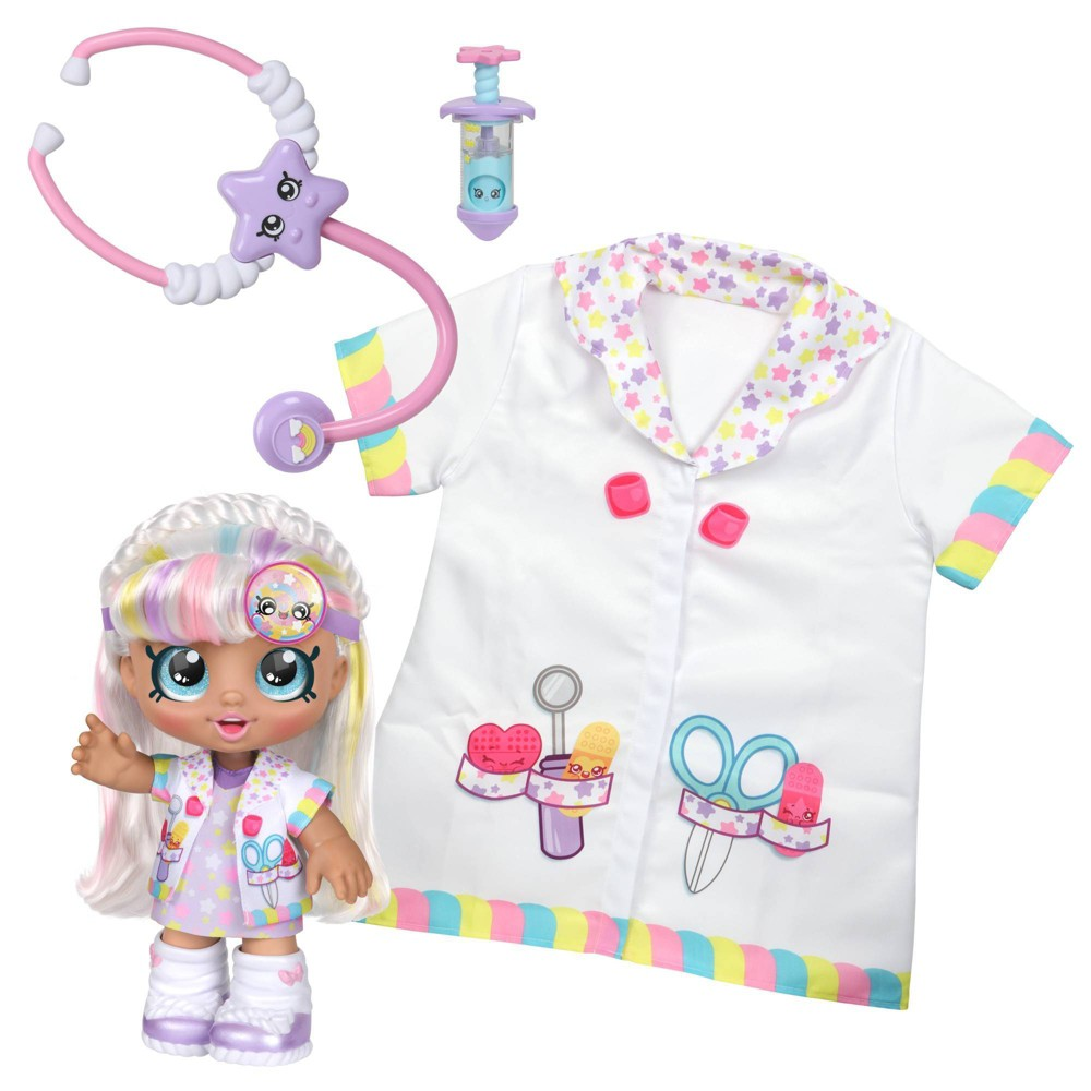 Kindi Kids Doctor 39 S Dress Up Doll Marsha Mellow