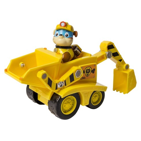Paw Patrol Rubble's Dump Truck Vehicle and Figure - image 1 of 3