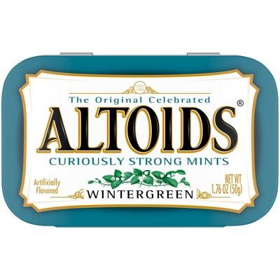 Altoids Wintergreen Mint Candies - 1.76oz