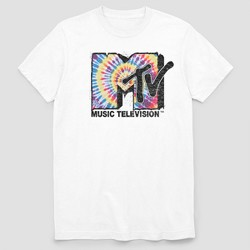 Men's MTV Short Sleeve Graphic T-Shirt White