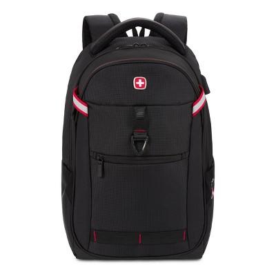 "SWISSGEAR 17"" Core Travel Backpack - Black"