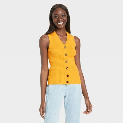 Women's V-Neck Sweater Vest - Who What Wear™