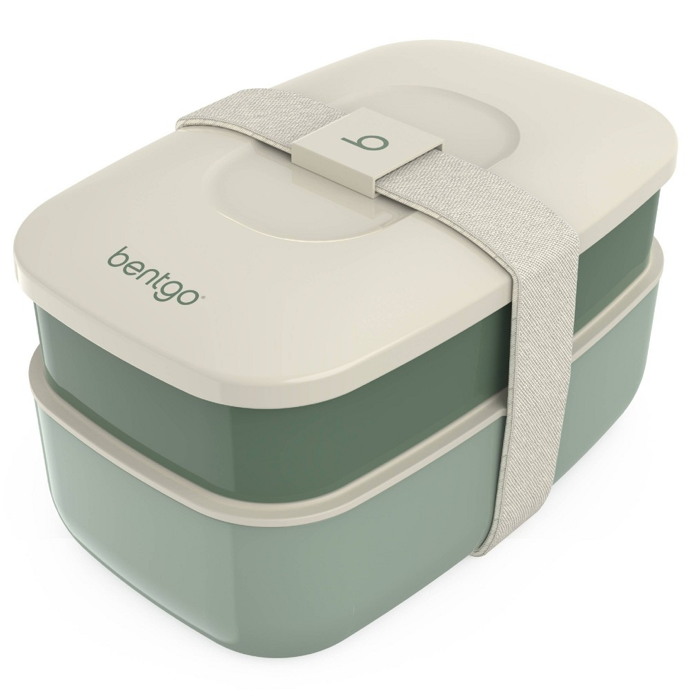 Image of Bentgo Classic All-in-One Stackable Lunch Box Container - Khaki Green