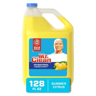 Mr. Clean Antibacterial Multi-Surface Cleaner - Summer Citrus - 128 fl oz