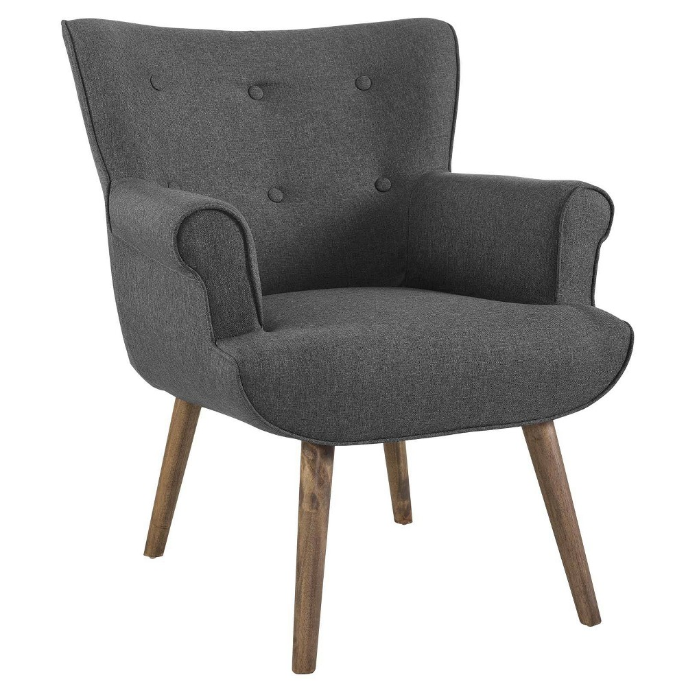 Cloud Upholstered Armchair Gray - Modway