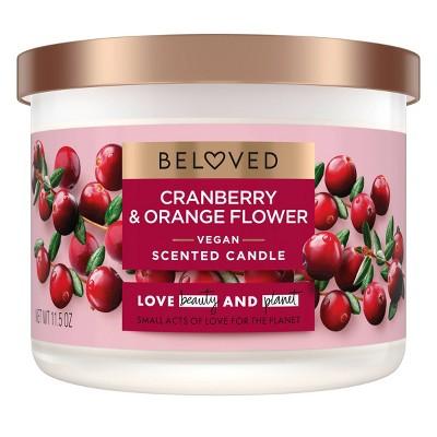 Beloved Cranberry & Orange Flower Candle - 11.5oz