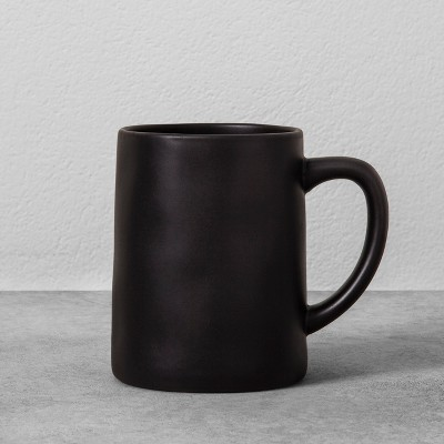 Stoneware Mug 14oz - Black - Hearth & Hand™ with Magnolia