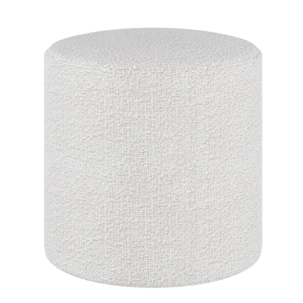 Round Ottoman Milano White Project 62 8482