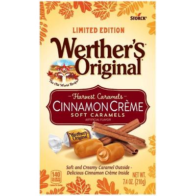 Werther's Original Halloween Soft Cinnamon Caramels - 7.4oz