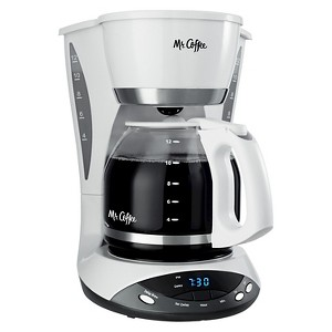 Mr. Coffee 12 Cup Coffee Maker -White DWX20