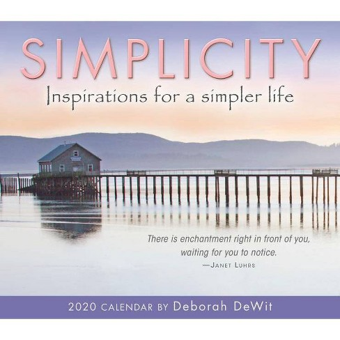 2020 Simplicity Inspirations for a Simpler Life Boxed Daily Calendar - by  Deborah Dewit - image 1 of 1