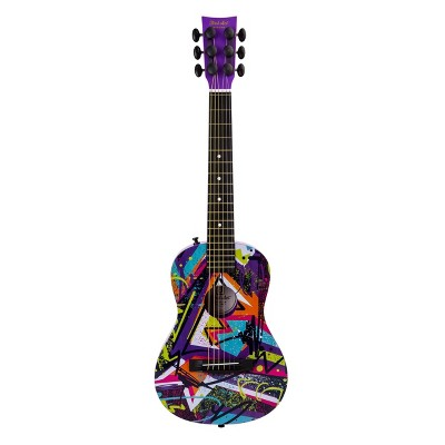 First Act Plastic Acoustic Technicolor Guitar