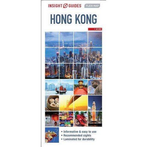 Insight Guides Flexi Map Hong Kong - (Insight Flexi Maps) 2 Edition on