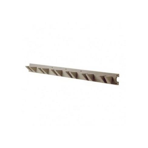 Suncast V748 4 Foot Long Handled Garden Tool Shed & Garage Wall Hanger, Platinum - image 1 of 2