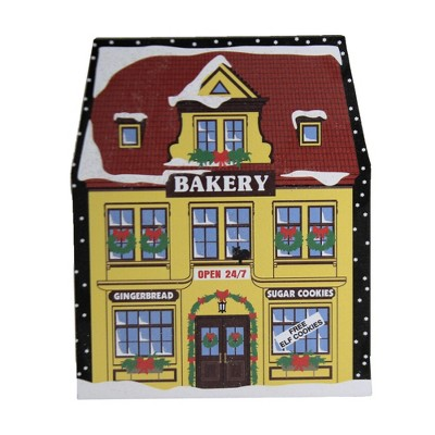 """Cats Meow Village 4.75"""" North Pole Bakery 2020 Christmas Gingerbread  -  Decorative Figurines"""