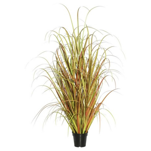 "Artificial Mixed Brown Grass in Pot (60"") Brown - Vickerman - image 1 of 1"