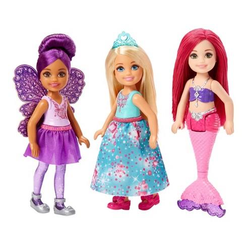 Barbie Dreamtopia Chelsea Dolls 3pk Target