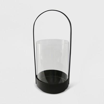 14  Cylinder Outdoor Lantern Black - Project 62™