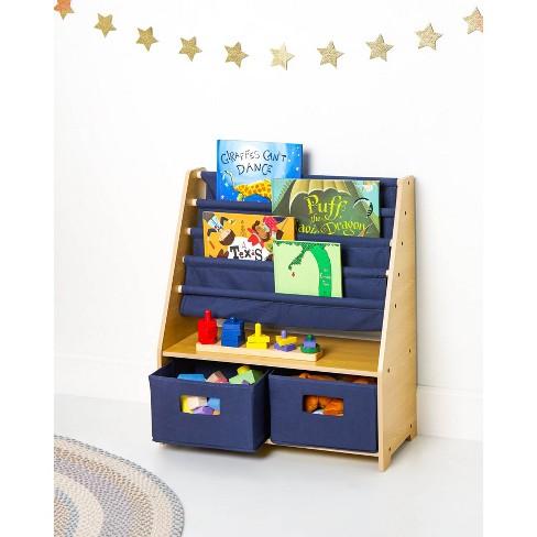 Sling Bookshelf With Storage Wildkin