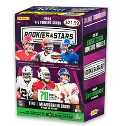 2019 NFL Rookies & Stars Football Trading Card Blaster Box