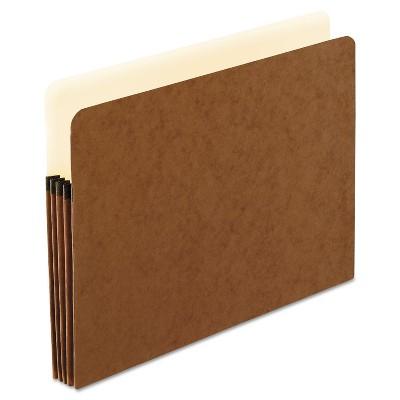 Pendaflex Smart Shield File Pocket 1 Pocket Straight Cut Letter Red Fiber 1524EAM