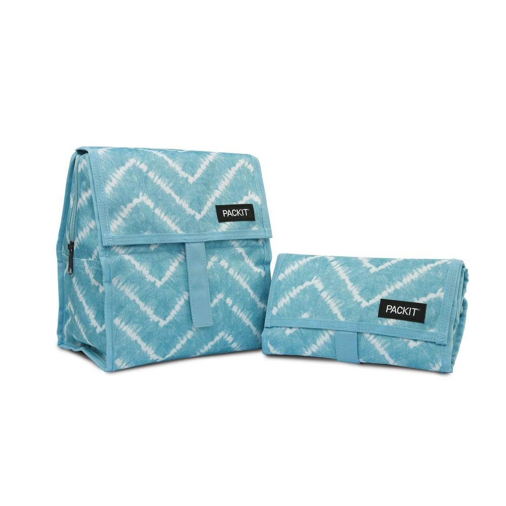 Image of PackIt Freezable Lunch Sack - Zig Zag Tye Dye