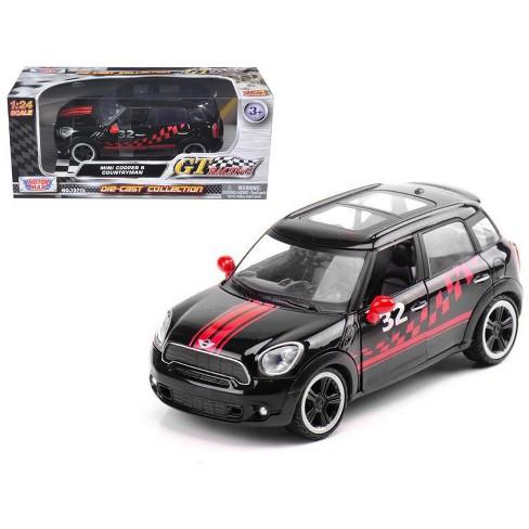 Mini Cooper S Countryman Black Racing 1 24 Cast Car Model By Motormax Target