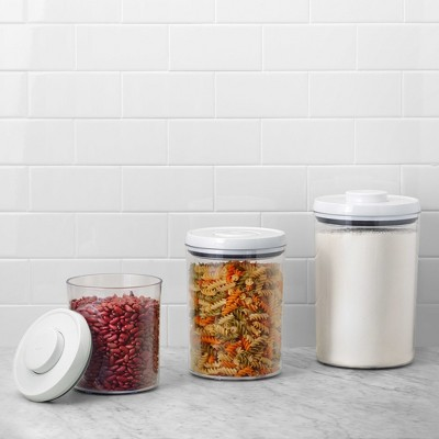 OXO POP 3pc Airtight Round Canister Set