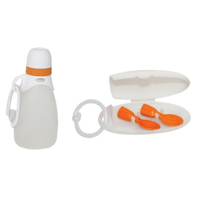 INFANTINO 'Fresh Squeezed' - Reusable Pouches & Spoons Bundle