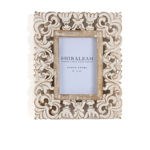 """Elysium Cutwork 4""""×6"""" Picture Frame - Shiraleah - image 1 of 1"""