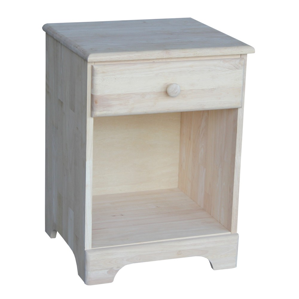Nightstand Unfinished - International Concepts, Wood