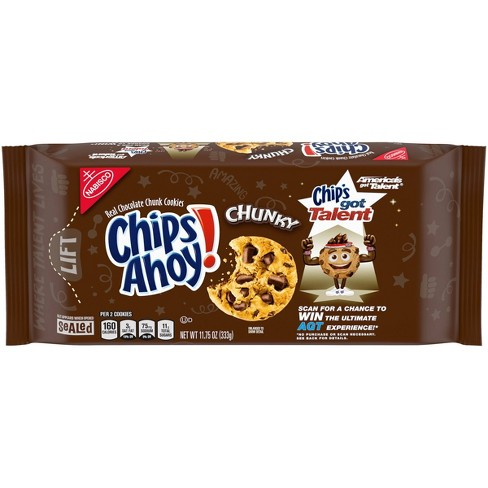 Chips Ahoy! Chunky Chocolate Chip Cookies - 11.75oz - image 1 of 4
